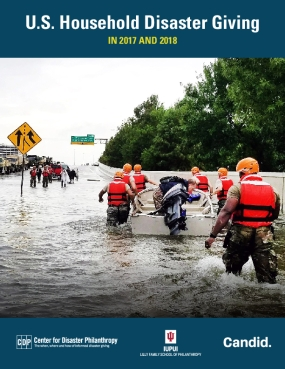 U.S. Household Disaster Giving in 2017 and 2018